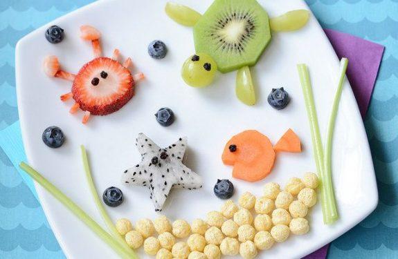 Actividades infantiles para comer sano