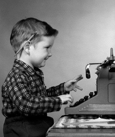 Resultado de imagen de escribir a maquina