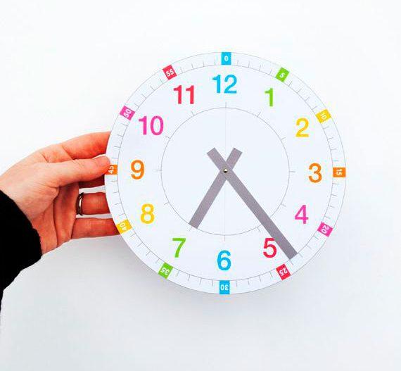 Como Enseñar El Reloj A Niños De Primaria Niños Creativos