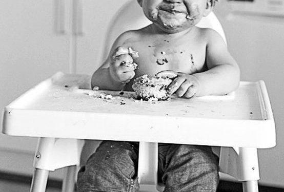 Enseñar a comer a los niños