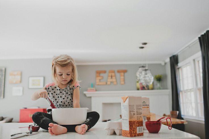 Enseñar a comer a los niños ciegos