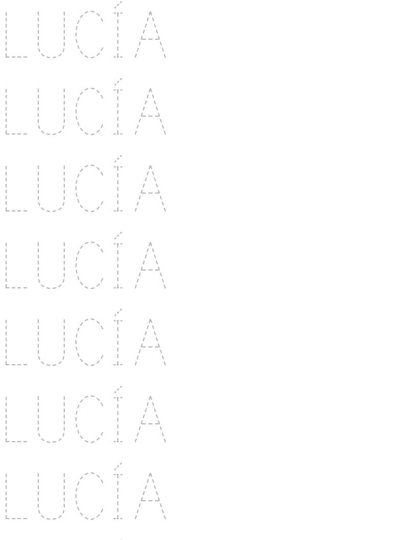 Fichas para aprender a escribir el nombre   Fichas para imprimir