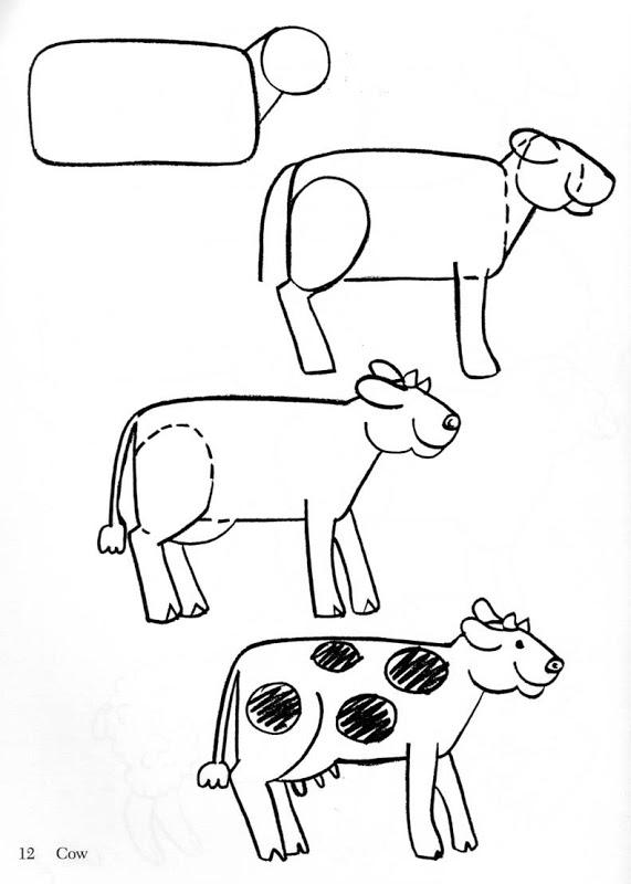Fichas para aprender a dibujar animales | Fichas para imprimir