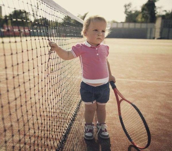Ejercicios de tenis para niños