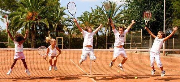 Juegos de tenis para niños