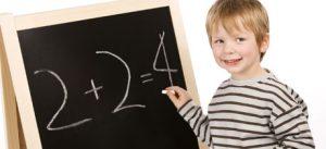 Aprendiendo a hacer sumas